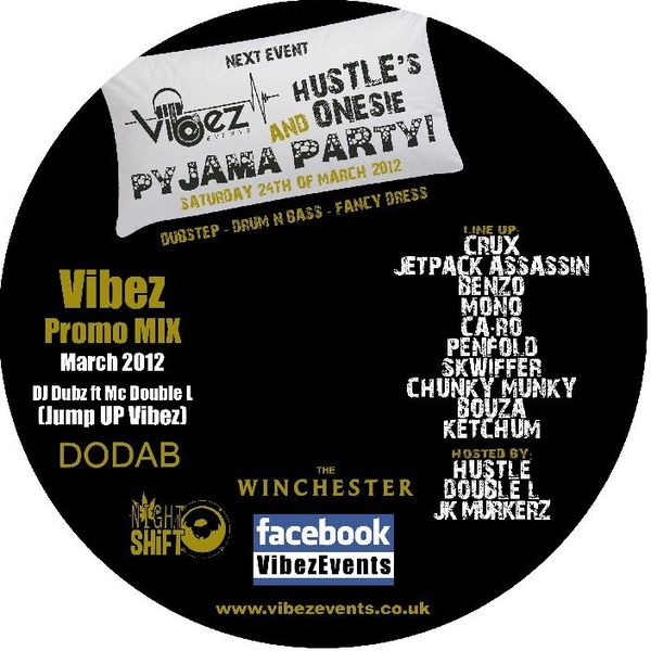 Vibez Promo Mix March 2012 – DJ Dubz Ft Mc Double L (Jump Up Vibez)