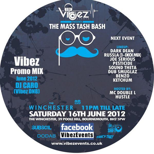 Vibez Promo Mix June 2012 – DJ CARO (DNB Vibez)