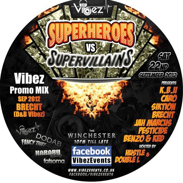 Vibez Promo Mix Sept 2012 – DJ Brecht – K.B.U (D&B Vibez)