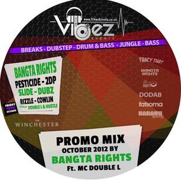 Vibez Promo Mix Oct 2012 – Bangta Rights (D&B Vibez)