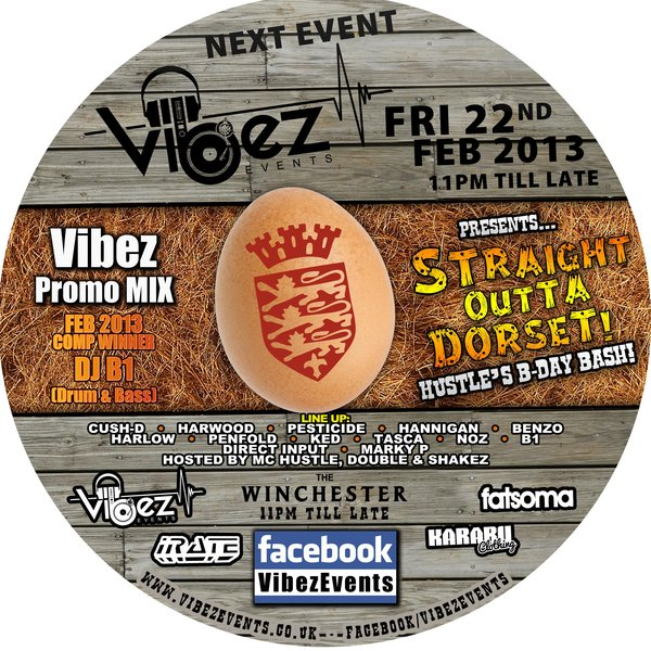 Vibez Promo Mix Feb 2013 – DJ B1 – Comp Winner